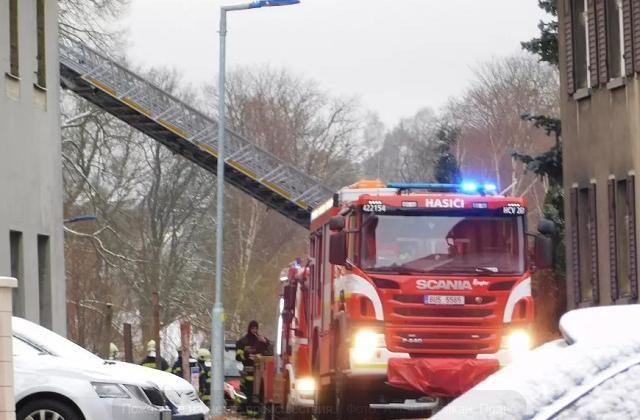 В Чехии произошел пожар в доме престарелых