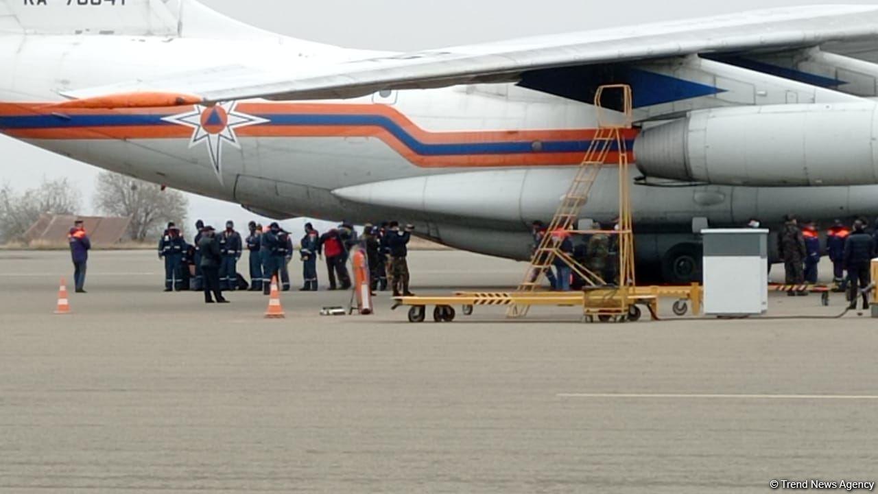 Российские саперы уже в Гяндже  - представитель МЧС РФ (ФОТО) - Gallery Image