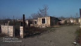 Azerbaijan shows footage from liberated Jahangirbayli village of Zangilan district (PHOTO/VIDEO) - Gallery Thumbnail