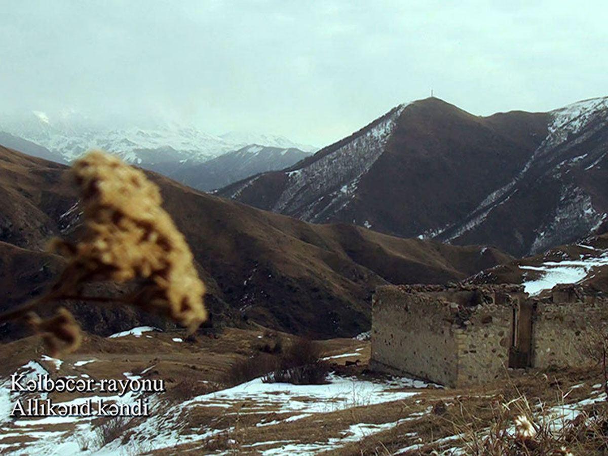 Azerbaijan shows video footage from Allikend village of Kalbajar district (PHOTO/VIDEO)