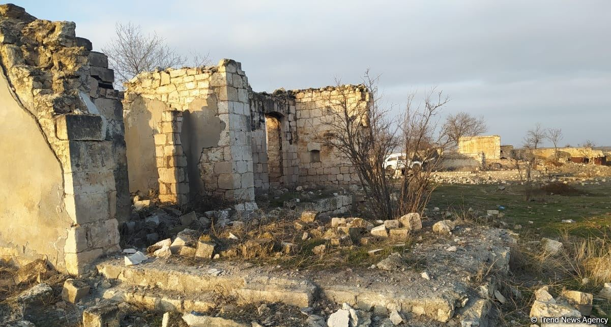 Giyasli village of Azerbaijan's Aghdam district liberated from occupation (PHOTO)