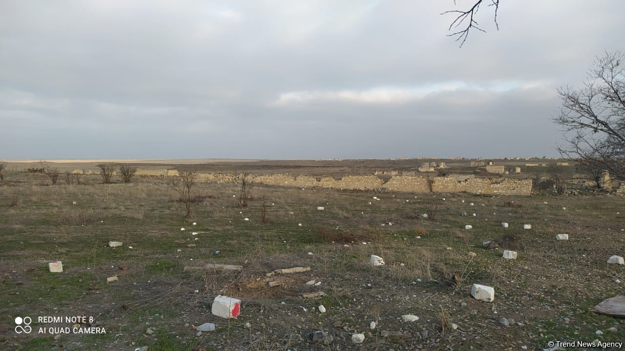 Giyasli village of Azerbaijan's Aghdam district liberated from occupation (PHOTO) - Gallery Image
