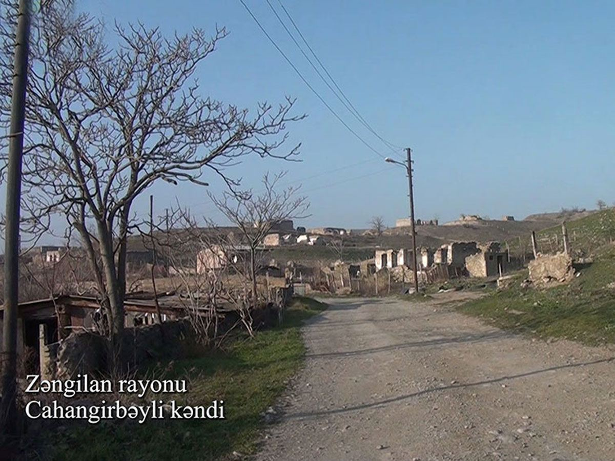 Azerbaijan shows footage from liberated Jahangirbayli village of Zangilan district (PHOTO/VIDEO)
