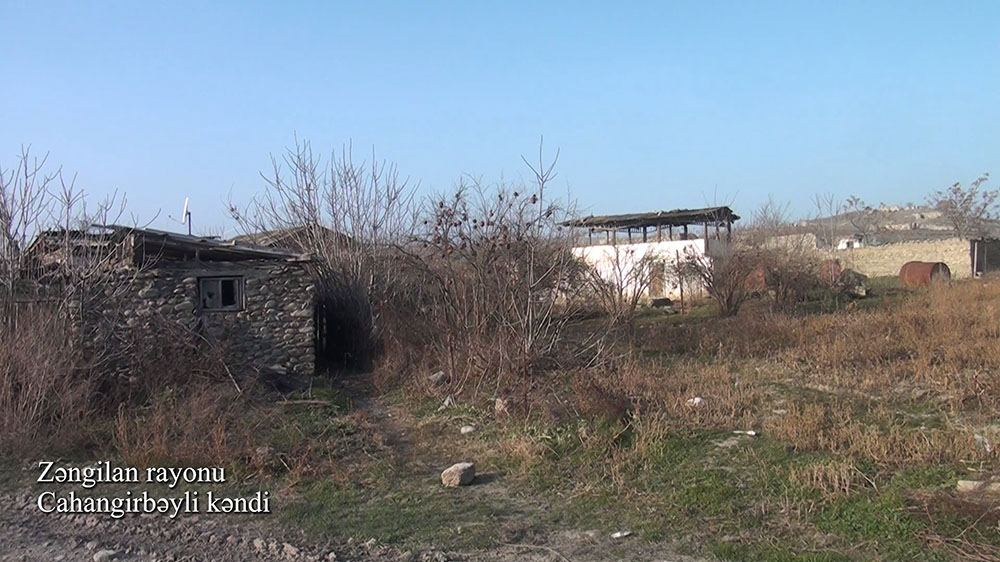 Azerbaijan shows footage from liberated Jahangirbayli village of Zangilan district (PHOTO/VIDEO) - Gallery Image