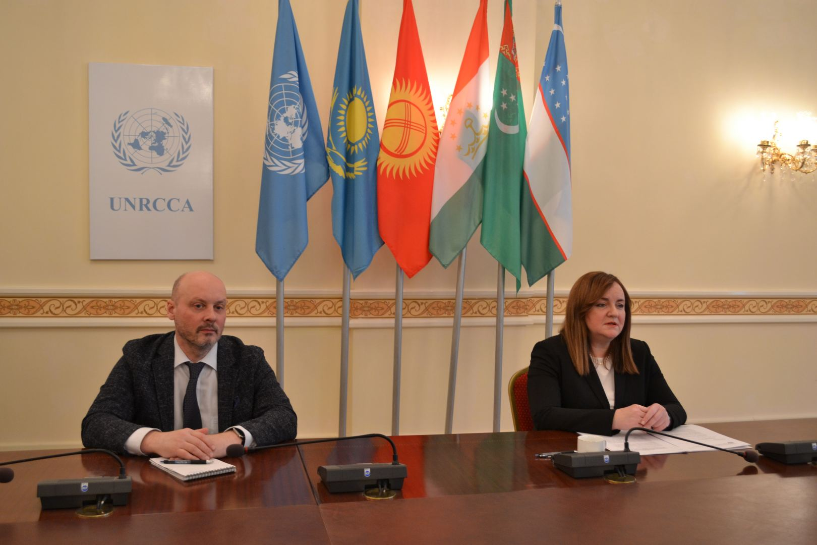 Head of Regional Centre for Preventive Diplomacy for Central Asia holds press-conference (PHOTO)
