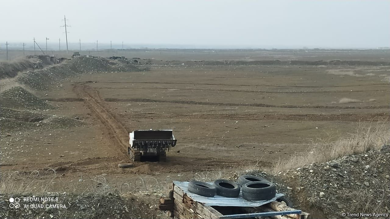 Russian official talks de-mining work in Azerbaijan's liberated Aghdam district (PHOTO/VIDEO) - Gallery Image