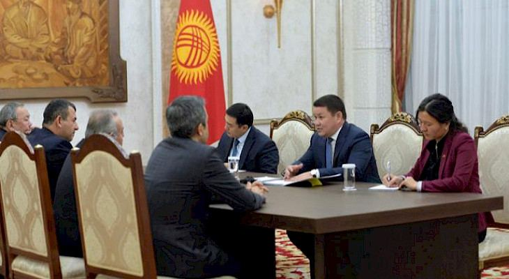 Acting President of Kyrgyzstan meets with TURKPA observer mission