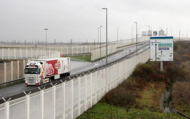 High number of trucks being stopped on UK-EU border