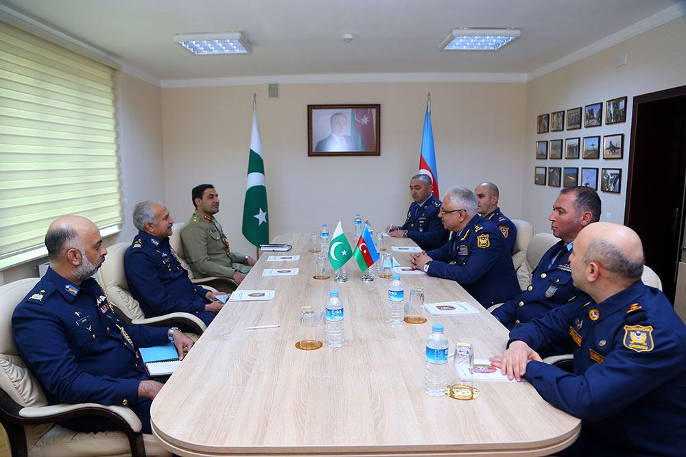 Azerbaijani, Pakistani Military Air Forces discuss cooperation issues (PHOTO) - Gallery Image