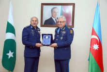 Azerbaijani, Pakistani Military Air Forces discuss cooperation issues (PHOTO) - Gallery Thumbnail