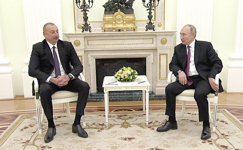 Relations between Russia, Azerbaijan developing very successfully today - Russian president