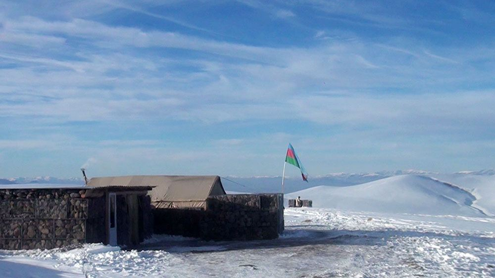 Azerbaijan continuing to improve social condition of its army in liberated lands (VIDEO)