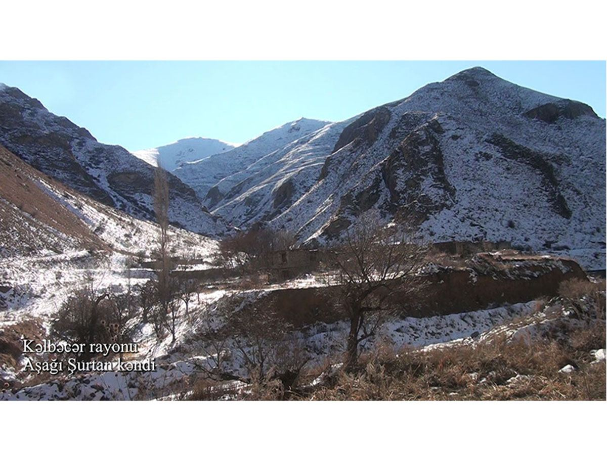 Azerbaijan shows liberated Ashaghy Shurtan village of Kalbajar (PHOTO/VIDEO)