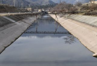 Azerbaijan talks condition of water canals branching out from Sugovushan reservoir