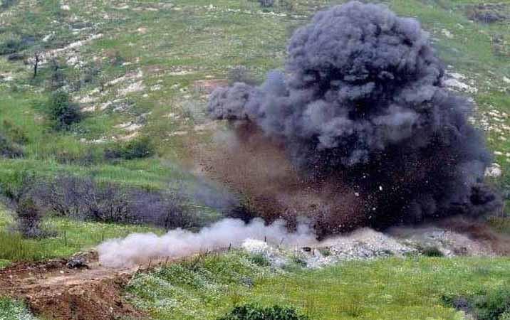 Bulldozer in Azerbaijan's Tartar hits anti-tank mine, driver injured