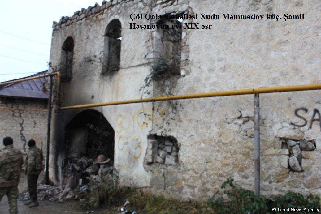 Армяне разрушили сотни исторических и архитектурных памятников в городе Шуша – ФОТОФАКТ (Эксклюзив)