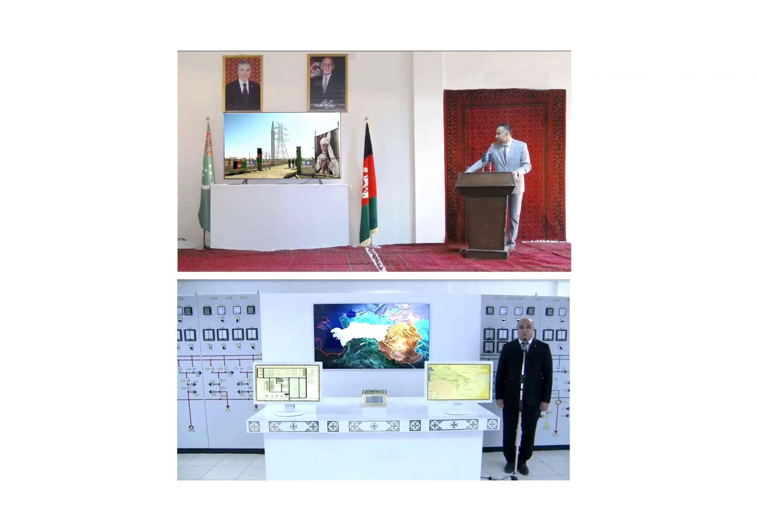 Президенты Туркменистана и Афганистана приняли участие в церемонии ввода в строй ряда совместных инфраструктурных объектов (ФОТО) - Gallery Image