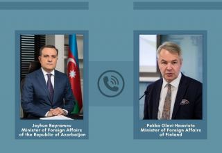 Azerbaijani, Finnish FMs discuss latest situation in region