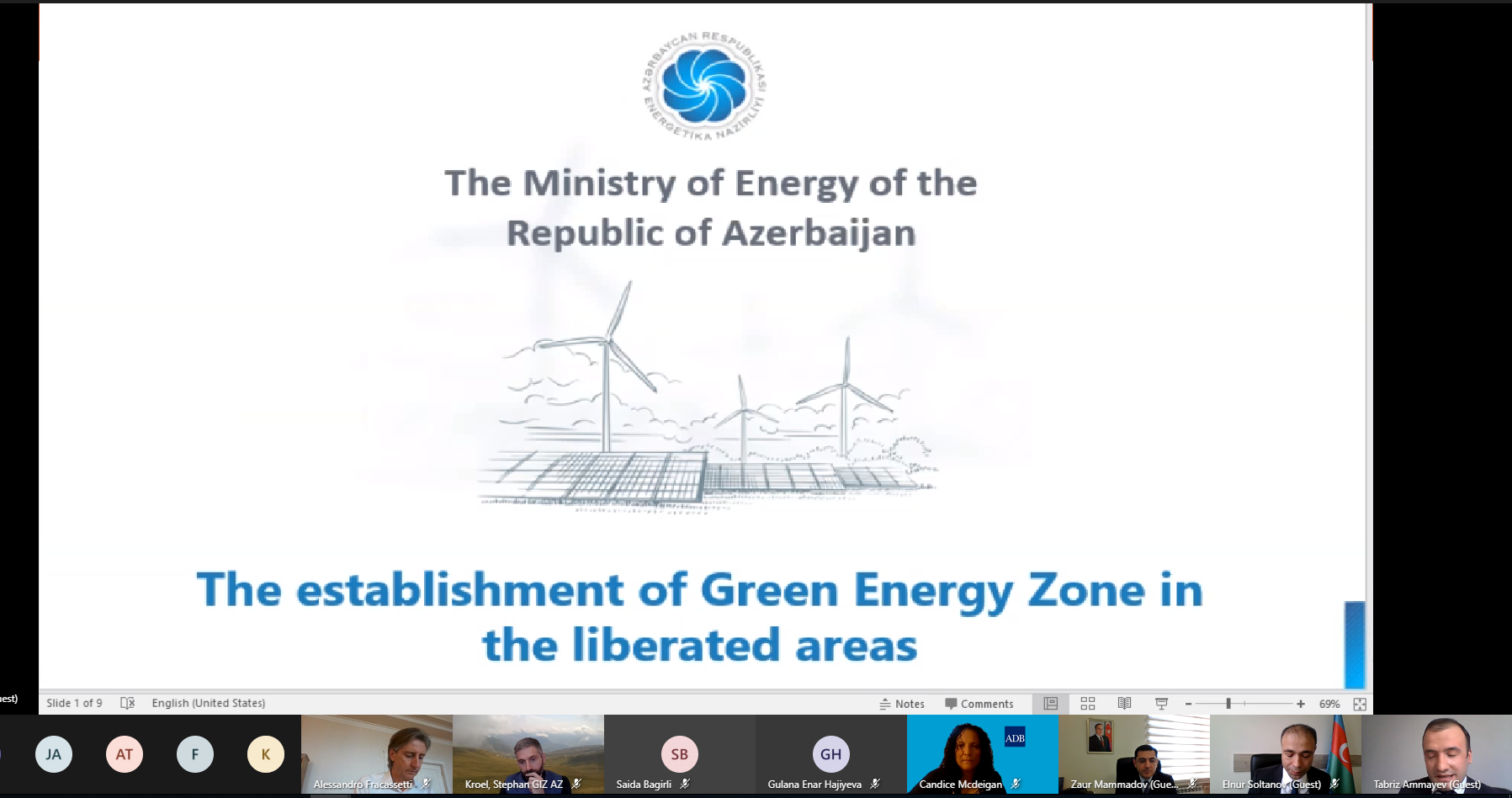 Int'l structures willing to cooperate for 'Green Energy Zone' in Azerbaijan's Karabakh (PHOTO) - Gallery Image