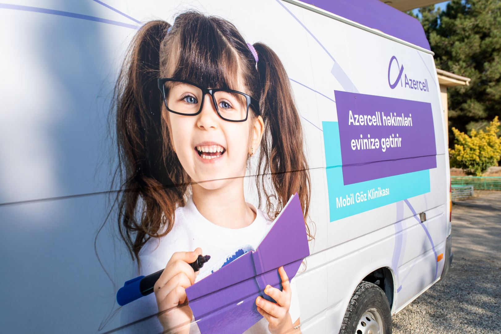 Azercell's Mobile Eye and Mobile Dental Clinics provided free medical service to the hundreds of residents in 2020! (PHOTO) - Gallery Image