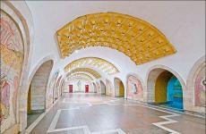 """Метро """"Низами Гянджеви"""" - музей под землей! В Европе каждая из мозаик оценивалась бы в миллион долларов (ФОТО) - Gallery Thumbnail"""