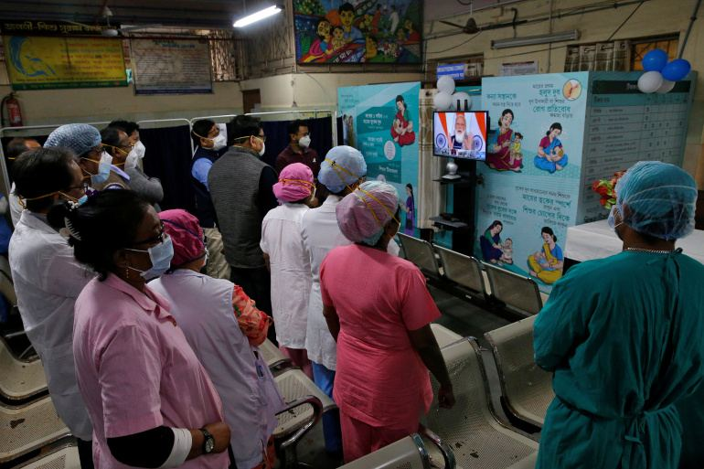 India's COVID-19 vaccination drive hits bump due to app glitch