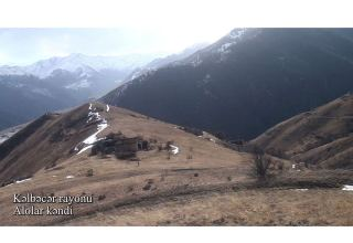 Azerbaijan shows footage from Alolar village of  Kalbajar district (PHOTO/VIDEO)