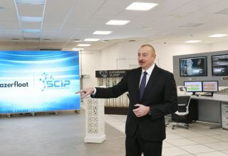 Industry, agriculture, non-oil sector, export opportunities, reduction of dependence on imports – all these factors created new reality today - President Aliyev