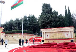 Preparatory work under completion in Azerbaijan's Alley of Martyrs (PHOTO)