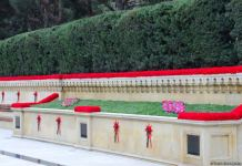 Preparatory work under completion in Azerbaijan's Alley of Martyrs (PHOTO) - Gallery Thumbnail