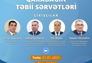 Baku Higher Oil School to host webinar on 'Natural Resources of Karabakh'