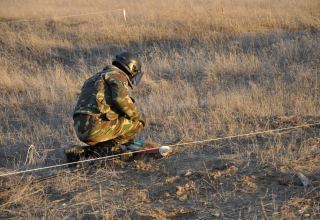 Ministry discloses number of mines neutralized by Azerbaijani, Russian sappers in Karabakh (VIDEO)