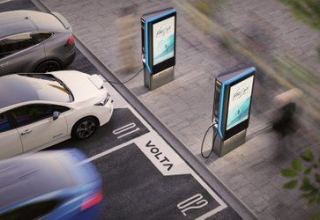 Investors pump $125 million into EV charging startup Volta