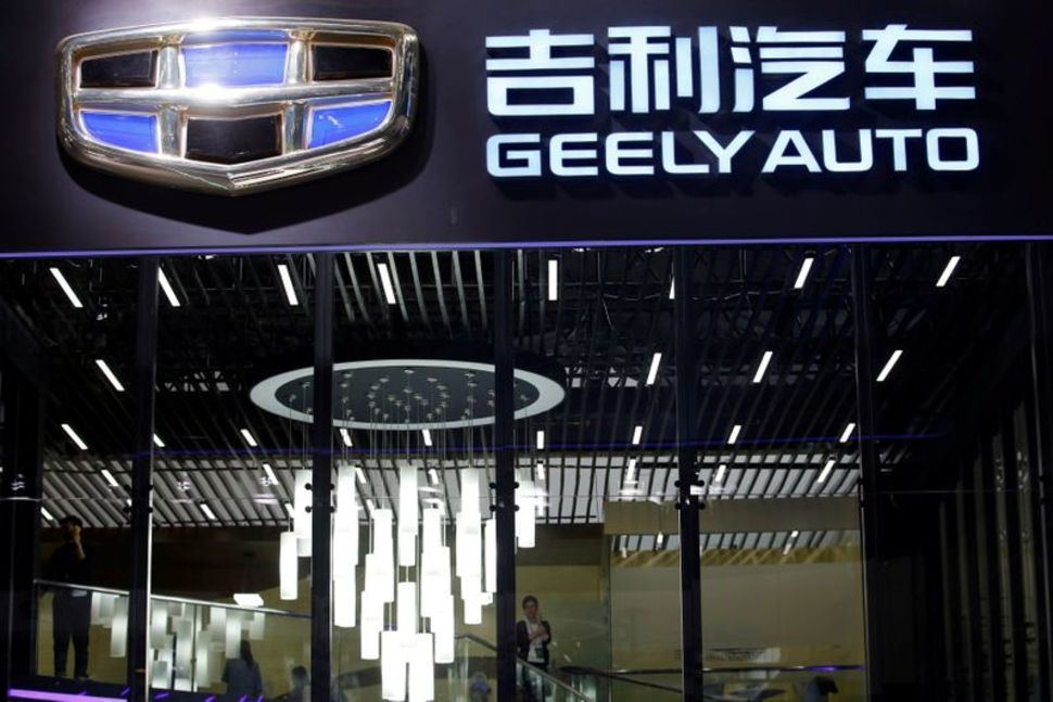 China's Geely to work on smart car technologies with Tencent