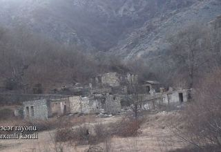 Azerbaijan shows footage from Nadirkhanli village of Kalbajar district (PHOTO/VIDEO)