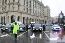 Azerbaijan holds minute of silence to honor January 20 victims (PHOTOVIDEO) - Gallery Thumbnail