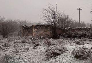 Cəbrayıl rayonunun Aşağı Maralyan kəndi (FOTO)