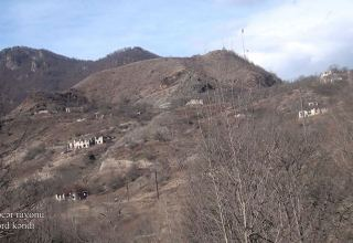 Azerbaijan shows footage from Jomerd village of Kalbajar district (PHOTO/VIDEO)
