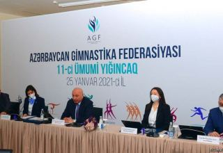 Azerbaijan Gymnastics Federation holds its General Assembly and Executive Committee meeting (PHOTO)