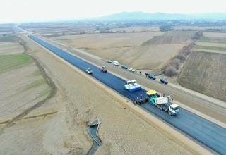 One of sections of Baku-Georgia highway improved (PHOTO)