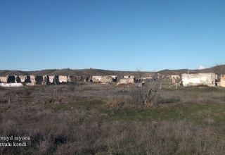 Azerbaijan shows footage from Karkhulu village of Jabrayil district (PHOTO/VIDEO)