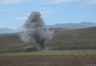 Azerbaijani soldier killed during explosion in Aghdam district