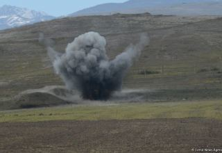 Mine explosion kills one in Azerbaijan's Sugovushan