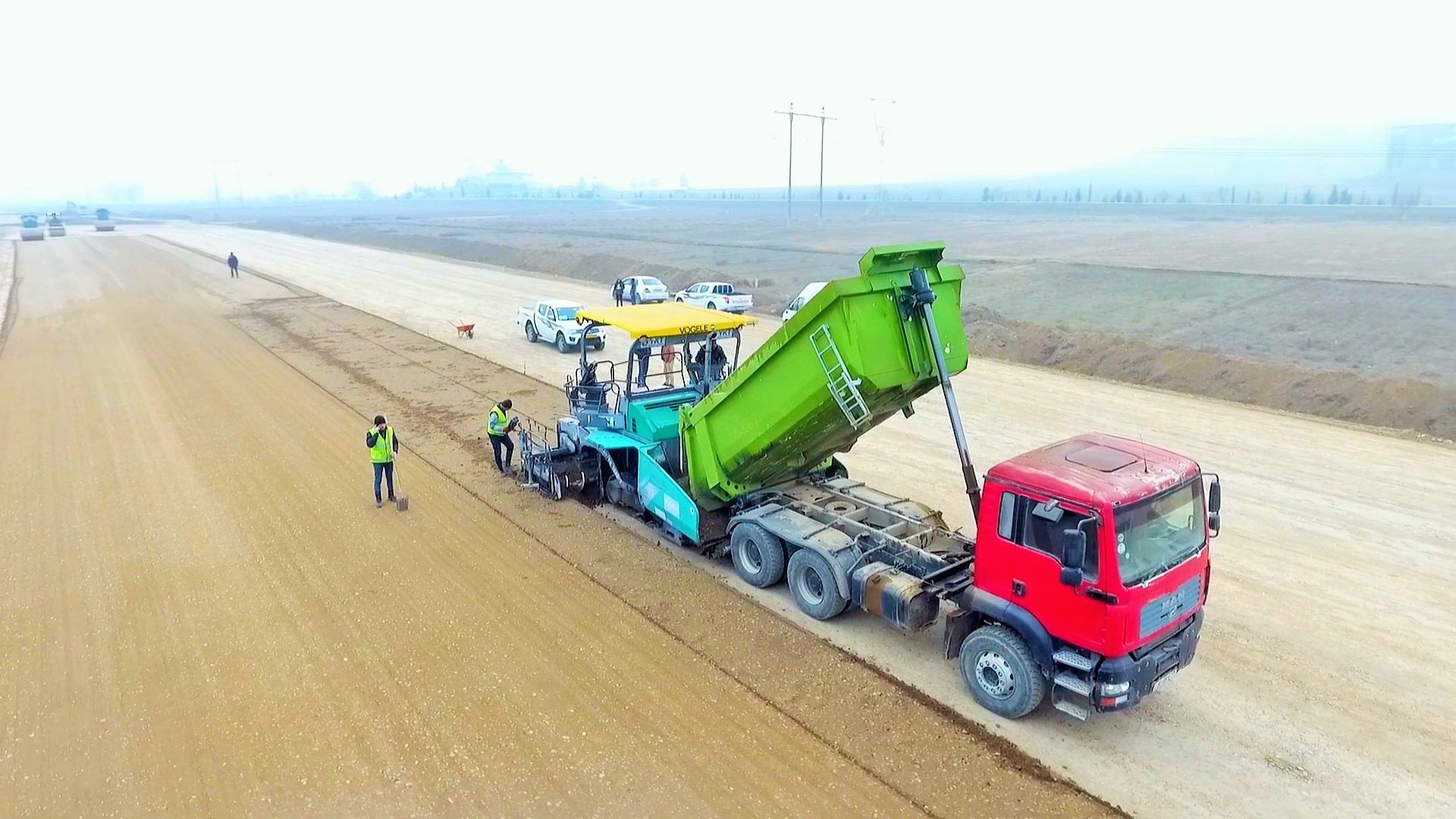 One of sections of Baku-Georgia highway improved (PHOTO) - Gallery Image