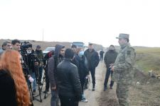 Clearing of mines, unexploded ordnance continuing in Azerbaijan's liberated Fuzuli district (PHOTO/VİDEO) - Gallery Thumbnail