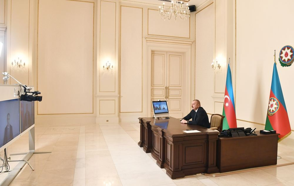 Azerbaijan plays central role in region in field of communications and high technologies - President Aliyev