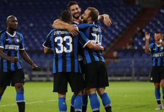 """""""İnter"""" futbol klubu """"Milan""""ı məğlub edərək İtaliya Kubokunun yarımfinalına yüksəldi"""