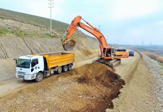 Azerbaijan launches highway construction in Aghstafa district (PHOTO)
