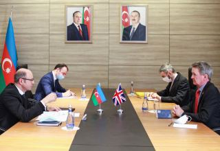 UK voices interest in restoring electric energy sector in Azerbaijan's liberated areas