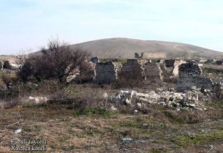 Azerbaijan releases footage of Fuzuli district's Khalafsha village (PHOTOVIDEO)